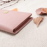 新款韓版頭層牛皮長款女士錢包軟皮超薄款真皮錢夾簡約時尚