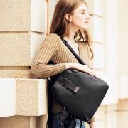 新款休閑女式頭層牛皮荔枝紋女式多用雙肩斜挎 女式背包