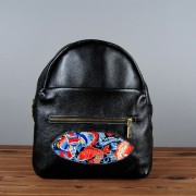 新款民族包真皮女士雙肩包刺繡旅行包定制大容量背包爆款批發
