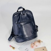真皮雙肩包女包新款牛皮大容量時尚學院風女式旅行背包書包潮