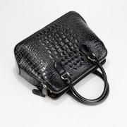 真皮手提女包歐美時尚奢華鱷魚紋單肩斜挎牛皮包