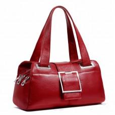 歐美風范真皮女包手提包時尚百搭枕頭包中年女士單肩包