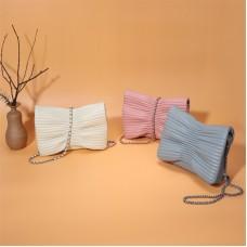 新款小香風鏈條羊皮包歐美單肩時尚女士包包斜跨真皮女包