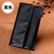 新款女士錢包女長款真皮三折羊皮多功能超薄大容量韓版耐磨