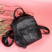 韓版真皮雙肩包頭層牛皮時尚百搭簡約學院風休閑旅行背包