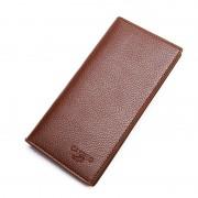 新款長款錢包男青年錢夾男士錢包超薄商務皮夾