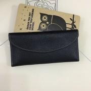 新款時尚真皮女士錢包優質牛皮長款錢夾零錢包 韓版純色女士卡包
