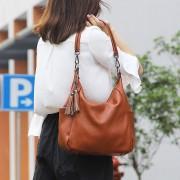 真皮歐美時尚女包托特包頭層牛皮氣質手提單肩斜跨包