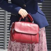 真皮女包歐美時尚單肩包頭層牛皮斜挎手提女士包包