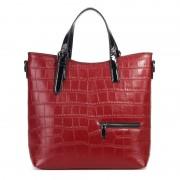 工廠直銷新款單肩斜挎真皮女包 歐美時尚頭層牛皮女士手提包