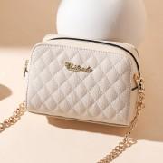 新款女包 歐美風范 經典純色單肩包女小包 斜跨 工廠批發