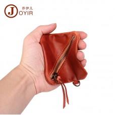 零錢包 植鞣皮復古真皮可愛小錢包 多功能收納包 零錢袋 硬幣包