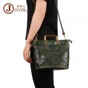 歐美時尚真皮女包 植鞣皮復古女士手提包 包包女新款 單肩包