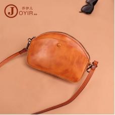 韓版時尚真皮女包 植鞣皮女包 單肩包 包包女新款 復古小包包