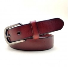 廠家批發新款時尚女士腰帶簡約百搭真皮頭層牛皮復古針扣皮帶