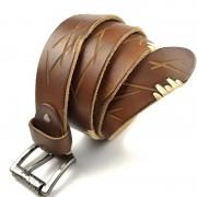 廠家批發個性百搭復古裝飾腰帶男士真皮針扣頭層牛皮皮帶