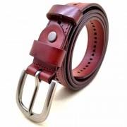 韓版新款頭層牛皮復古針扣皮帶女士時尚裝飾鏤空真皮腰帶
