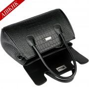 S9209真皮鱷魚紋手提包時尚歐美范簡約媽媽包中年女包