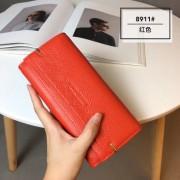 新款3折錢包女長款 真皮夾子多功能小清新韓版簡約女士錢夾潮