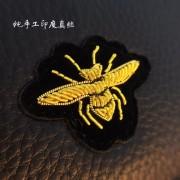 新款歐美簡約頭層牛皮錢包女長款真皮超薄個性蜜蜂錢夾皮夾潮