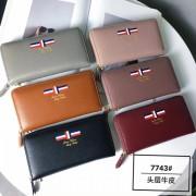 新款錢包女長款真皮拉鏈牛皮女士皮夾手拿大容量韓版女包潮