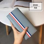 新款荔枝紋牛皮錢包女長款真皮手拿包韓版個性大容量女士錢夾