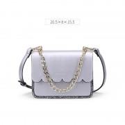 包包女新款鏈條手提包 女士韓版斜跨女包時尚單肩小方包