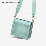 新款包包女韓版女士斜跨小包時尚單肩果凍包
