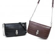 小包包女春夏新款斜挎包鱷魚紋復古單肩小眾設計包鏈條包