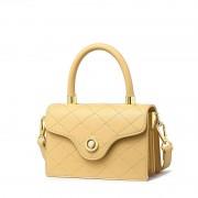包包女新款夏天小清新風琴包時尚菱格斜挎小方包手提女包