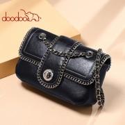 包包女新款小香風鏈條小方包單肩斜挎包女包 小包包