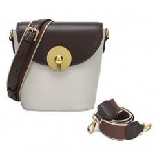 包包女新款秋冬水桶包單肩斜跨包女手提時尚潮流女包