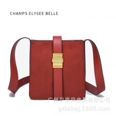 包包新款時尚潮流大容量磨砂韓版單肩斜挎托特pu女包
