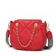 包包女新款小香風菱格鏈條包包女潮韓版百搭小眾時尚斜挎小包
