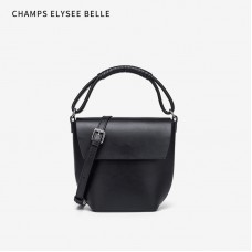 包包女2020新款時尚潮流水桶包單肩斜挎手提百搭真皮女包