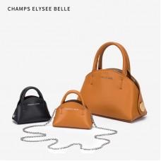 包包女2020新款小c k女包韓版休閑水桶包簡約復古貝殼手提包中包
