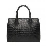 鱷魚紋女包手提包歐美新款時尚潮流大牌單肩斜跨包女