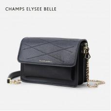 包包女新款潮韓版簡約鏈條小方包百搭單肩斜挎包