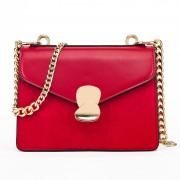 包包女新款潮韓版時尚撞色鏈條小方包百搭簡約單肩手提斜跨